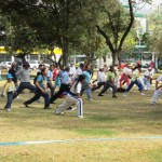 Every day sports in diferen parks of Quito
