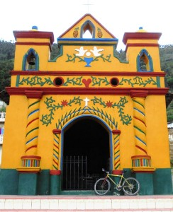 Chapel San Andres Xecul