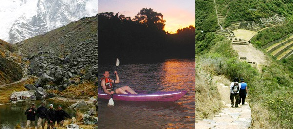 Jungle Inca Trail in the Spanish & Adventure package