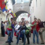 Travelling Classroom Quito excursie oude stad