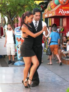 Tango on the street - Buenos Aires
