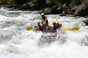 Rafting: Great way to end this Travelling Classroom Panama and Costa Rica.