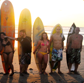 Surf classes in Ecuador, Montañita
