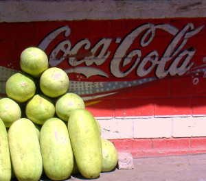 What do you prefer we have it both: Cola or melons?