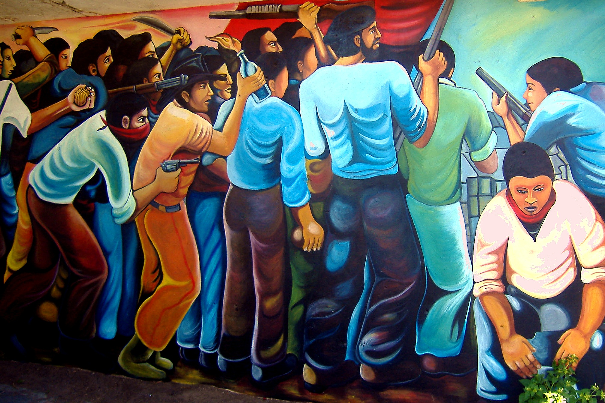 Nicaraguan people and culture the image for Mural nicaraguense
