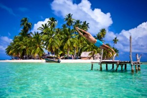 Panama and Costa Rica Travelling Classroom, here San Blas Islands!