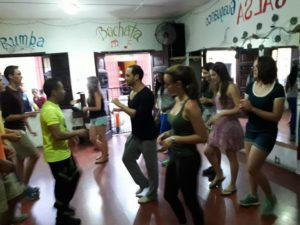Spanish classes in Guatemala, free dance classes!
