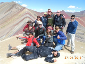 Rainbow trek Palcoyo in Spaans & Adventuur reis met Inca trail