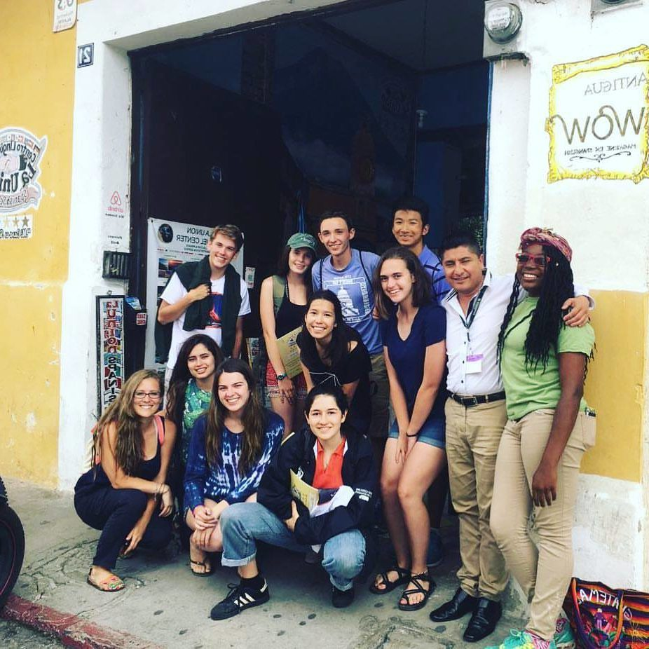 Learn Spanish in Guatemala, the school in Antigua