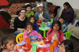 Yes also in Peru we offer free volunteer work in Latin America