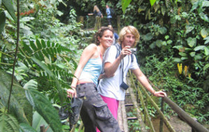 Jungle trip during the 1 or 2 week Travelling Classroom