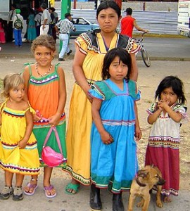 Indian tyical indian dresses in Panama