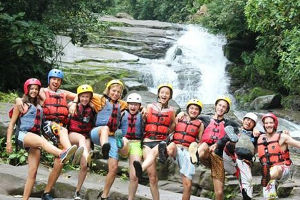 Spanish classes in Panama ziplining